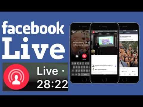 FaceBook Live วิธีถ่ายทอดสดตรงจากFacebook Live