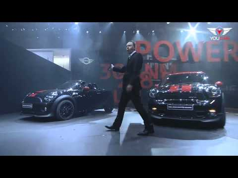 2013 MINI Countryman John Cooper Works @ Geneva 2012