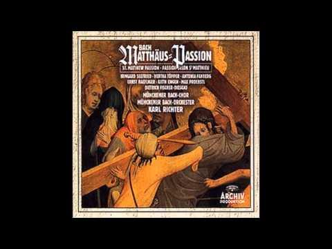 "J.S. Bach ""Matthäus-Passion (Part III) "" Karl Richter 1958"