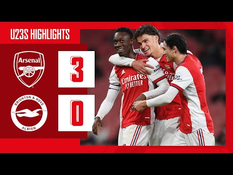 HIGHLIGHTS |  Arsenal vs Brighton (3-0) |  U23 |  Balogun (2), Salah-Eddine
