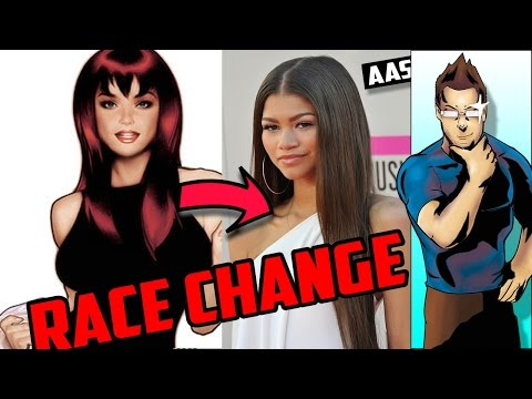 Race Change in Live Action Is it OK? - Ask Armin Some BS