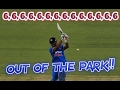 Dhoni Vs Pakistan : 6,6,6,6,6,6,6,6,6,6,6,6,6,6 - 14 Epic Sixes | Monster Hits Out Of The Park!! video