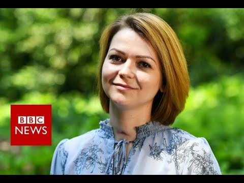 Russian spy poisoning: Yulia Skripal hopes to return to Russia - BBC News