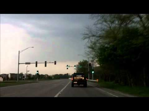 Severe Thunderstorms in Yorkville, IL. May 11, 2011.