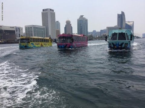 جولة سياحية في -الباص العجيب- بدبي  - نشر قبل 31 دقيقة