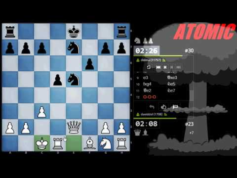 SCACCHI Partite Online 61 - Torneo delle Varianti 2016 - ATOMIC CHESS