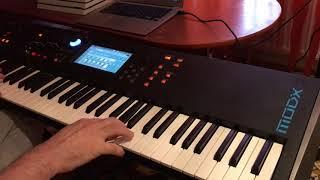 Yamaha MODX 7 - Robert Miles - Children, REMIX, HD Audio