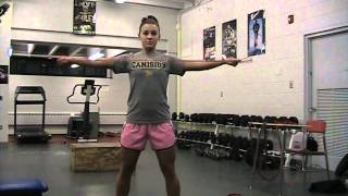 Reverse Grip Band Pull Aparts: Charlotte Booth A.t.c./mfl