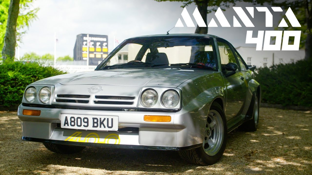 Collecting Cars | 1983 OPEL MANTA 400 GROUP B HOMOLOGATION MODEL