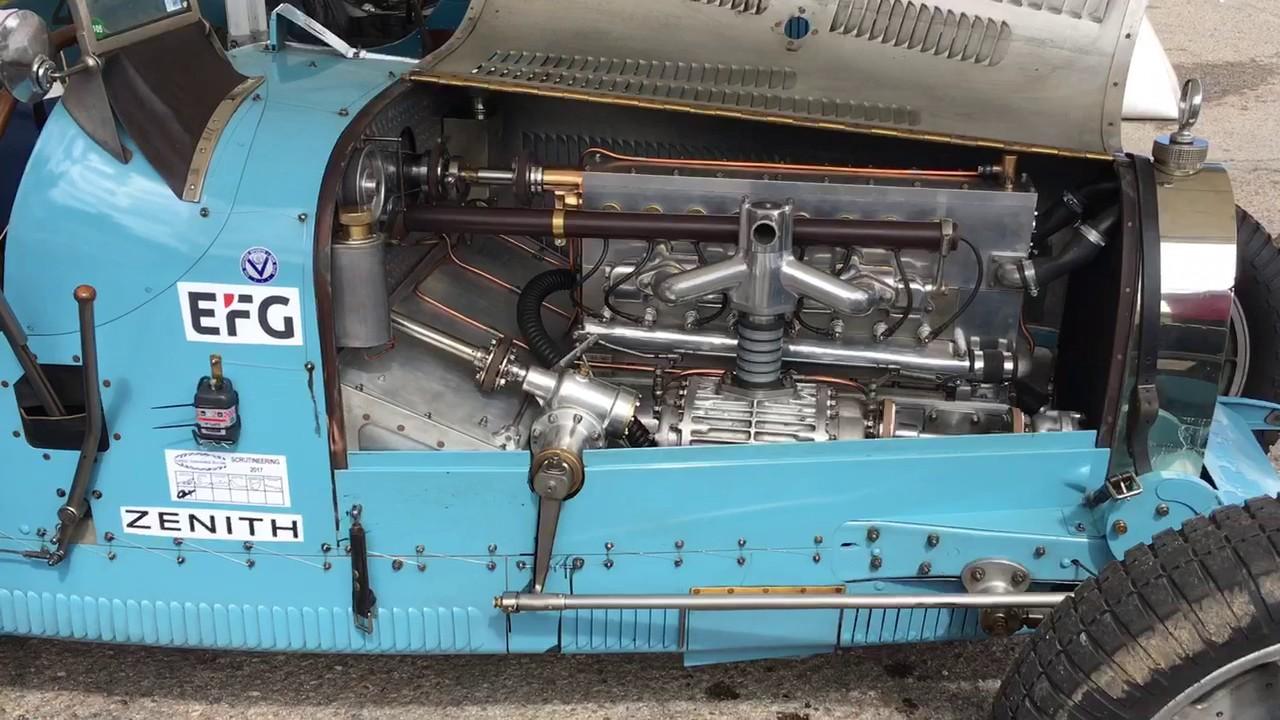 Bugatti Type 35 Engine Youtube