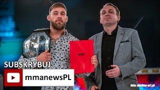 Hubert Szymajda oficjalnie na KSW 48 w Lublinie