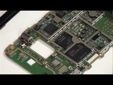 Sony Xperia Tipo Dual - как разобрать и обзор запчастей