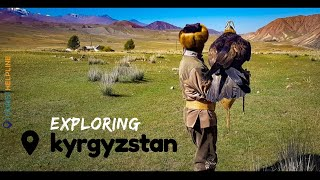 Teaser - My KYRGYZSTAN trip (2019) | Hitchhiking | Village stays | Eagle Hunt