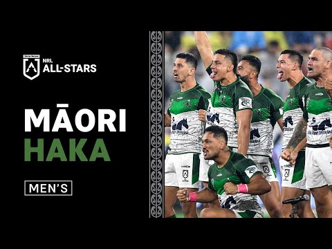 Māori Men's Haka | 2021 NRL All Stars