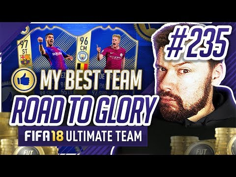 MY BEST SQUAD EVER?! - #FIFA18 Road to Glory! #235 Ultimate Team