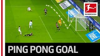 Crazy Ping Pong Goal – Klaassen Scores at 4th Attempt