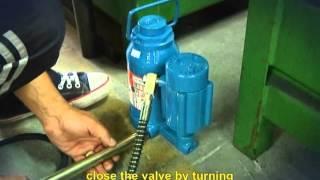 Hydro Pneumatic Jack - BOVENAU