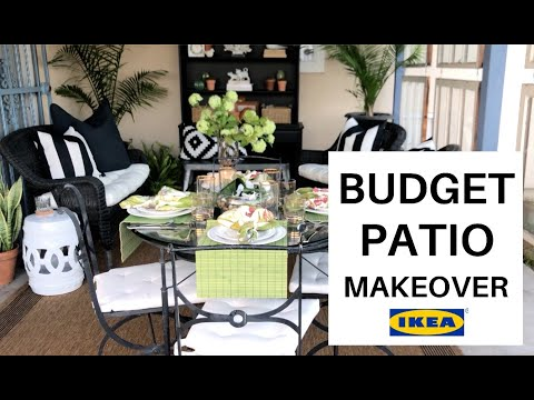 Ikea Home Decor 2019 /  Patio Makeover (decor inspiration)