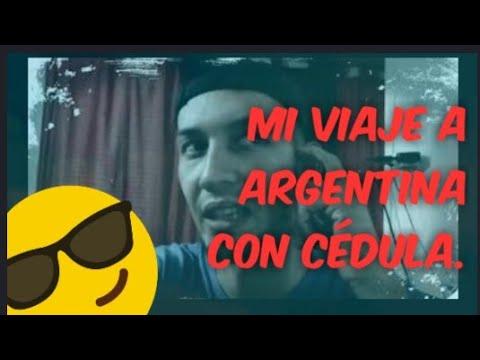 Mi viaje a Argentina desde Venezuela 100% por Tierra y con cédula.