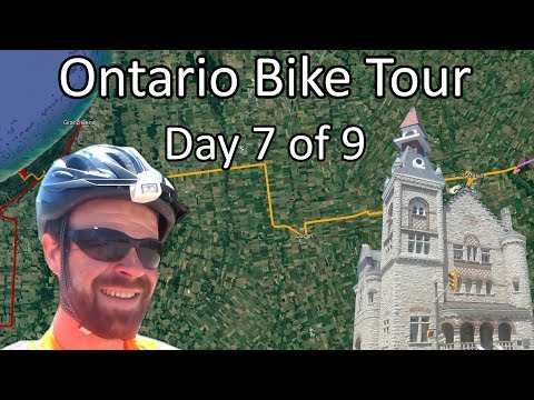 Pinery Provincial Park To St Marys - Rural Ontario Bike Tour - Day 7 Of 9