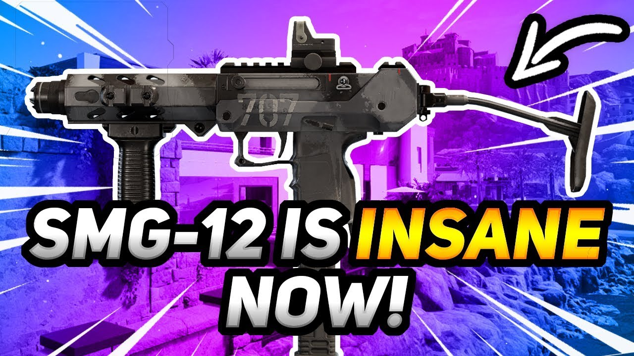 Smg 12 Is Insane Now Youtube