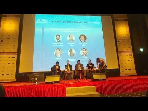Korea Blockchain Summit Ramon Vallati Reggle Middleton