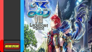 REVIEW - Ys VIII Lacrimosa of Dana For Nintendo Switch (NIS America)