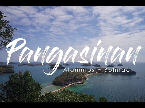 HUNDRED ISLANDS ALAMINOS & BOLINAO PANGASINAN 2017 | WHERE AVA TRAVELS