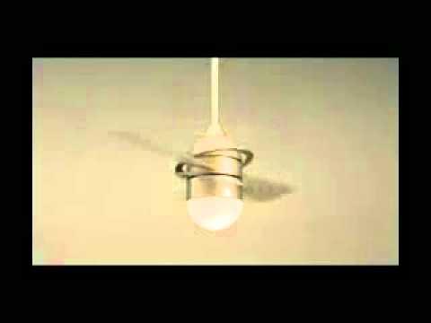 Savio Lighting Fanimation Involution Ceiling Fan  YouTube