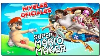 SUPER MARIO MAKER | NIVELES OFICIALES: El navío del amor | GAMEPLAY ESPAÑOL | WII U