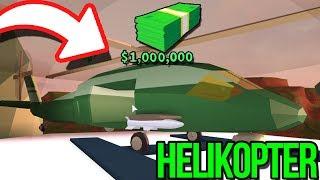 KUPILI-MY WOJSKOWY HELIKOPTER ZA 1.000.000$! W JAILBREAK - ROBLOX [#121]