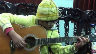 Path of the wind( My neighbor Totoro)-(guitar) Lê Thu Trang