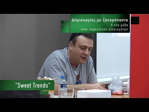Δημιουργίες με ζαχαρόπαστα: Η νέα μόδα στην παρουσίαση Γλυκισμάτων