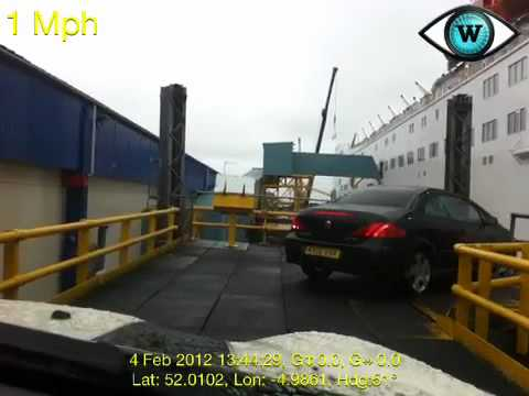 Taking The Ferry From Fishguard To Rosslare