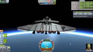 Kerbal Space Program - Interplanetary SSTO Rescue Ship