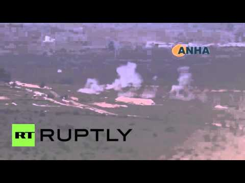 Syria: Turkish forces reportedly bomb near Kurdish-controlled Menagh airbase