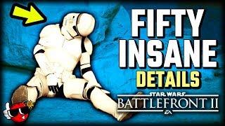 50 INSANE DETAILS in Capital Supremacy - Star Wars Battlefront 2