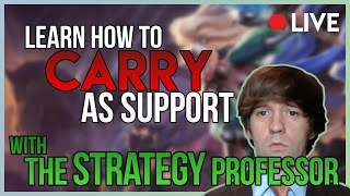 11/20/17 Stream -- How to Win As Support  -- League of Legends thumbnail