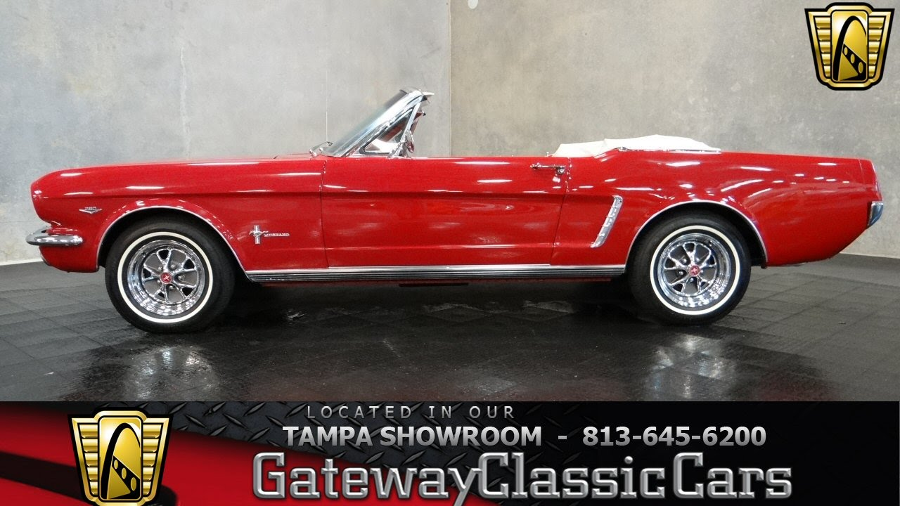 1965 ford mustang convertible 64 5 youtube