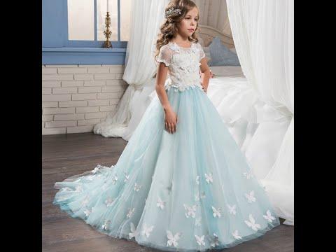 Платье Престиж для девочки голубой 3c5301d5 Видео