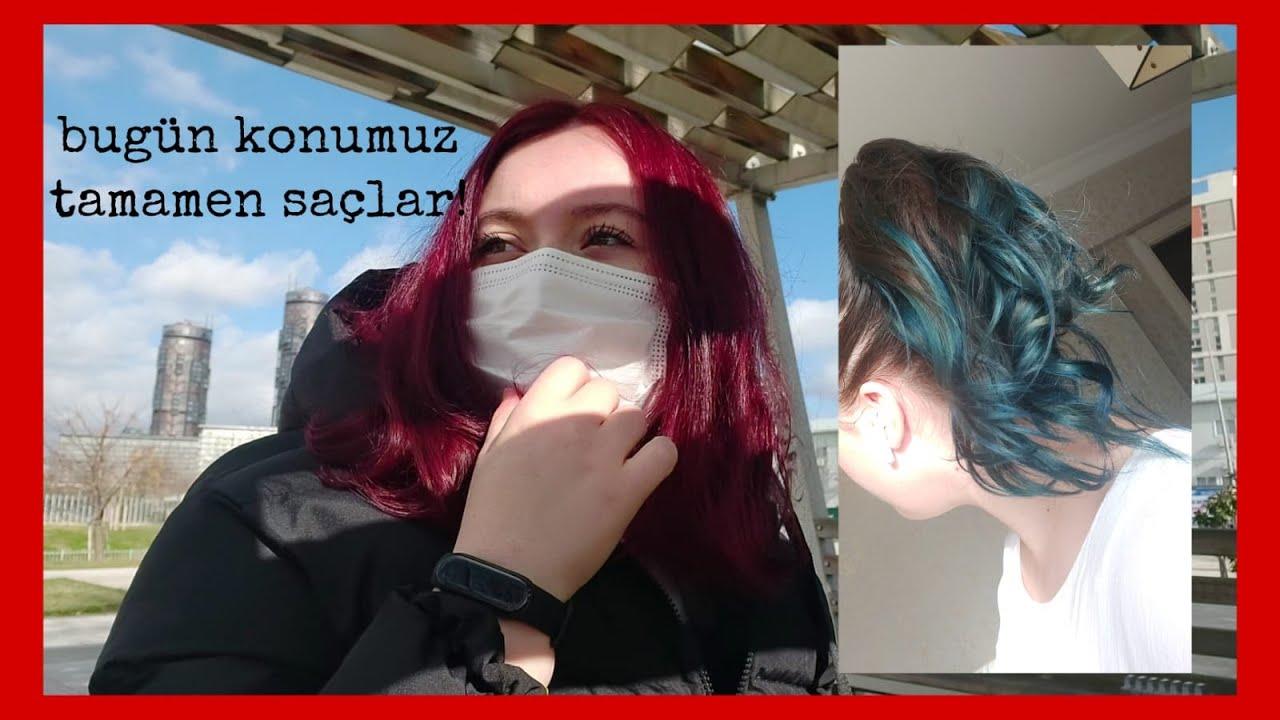 Sea Color  - Saç Boyama Videosu / Hair Coloring Application