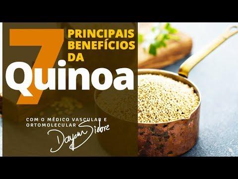 7 PRINCIPAIS BENEFÍCIOS DA QUINOA - Dr.Dayan Siebra