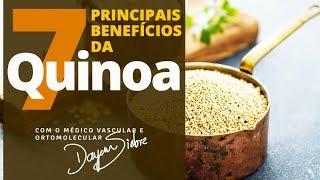 7 PRINCIPAIS BENEFÍCIOS DA QUINOA | Dr.Dayan Siebra