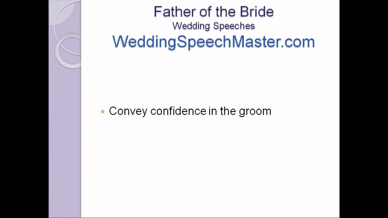 Father Of The Bride Wedding Speech Tips For Proud Fathers