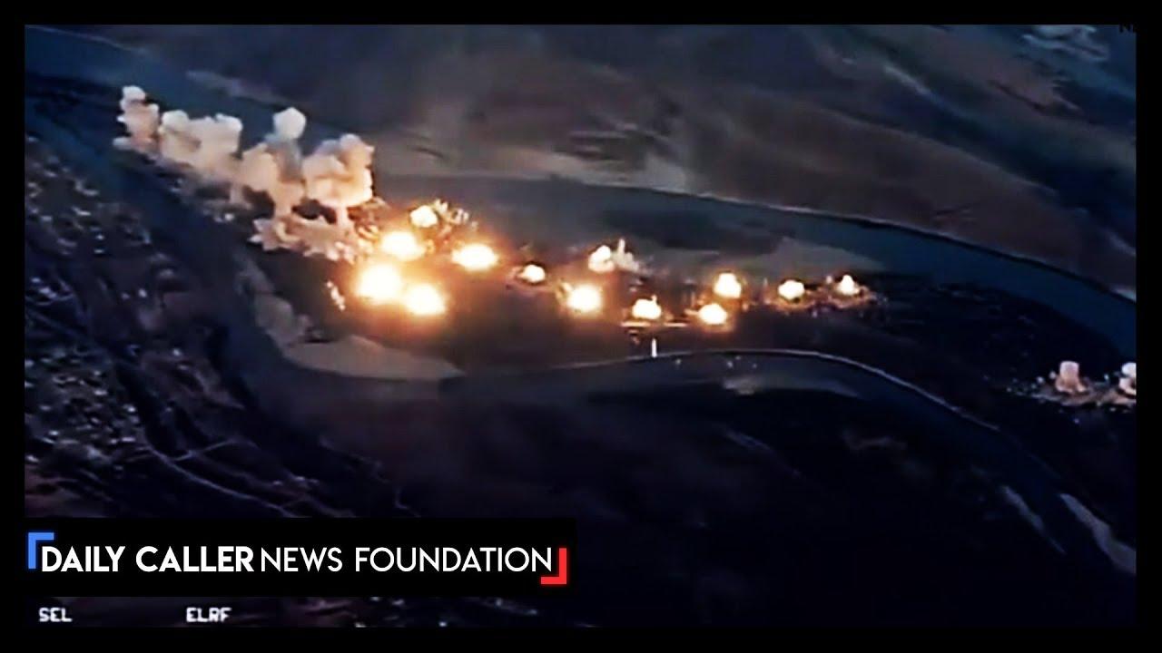 DC Shorts U.S. Bombed ISIS Island Stronghold