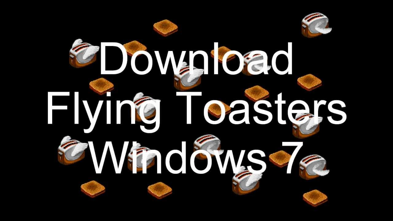 Flying Toasters Screen Saver Download Youtube