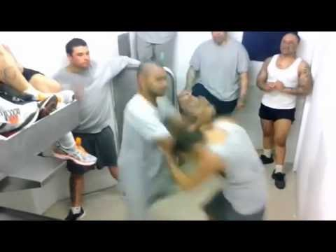 Black power gang prison fights