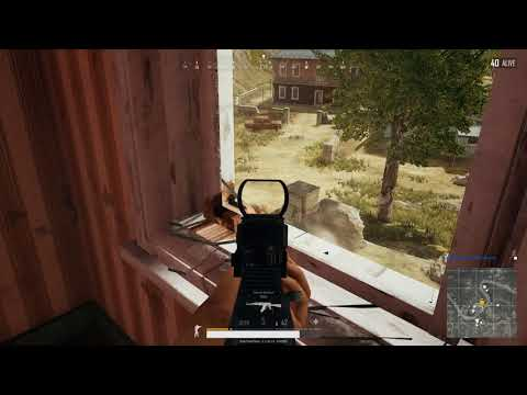 PUBG THINGS TO REMEMBER - Always allow time to reload before jumping out of window
