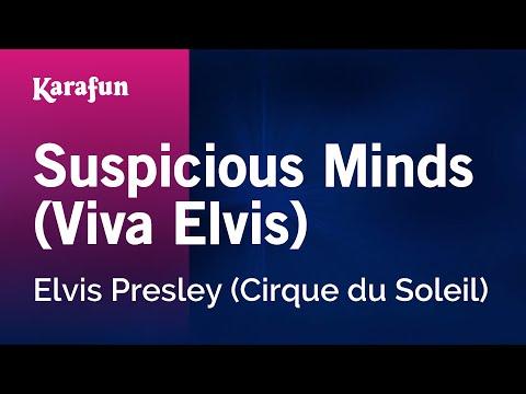 Karaoke Suspicious Minds (Viva Elvis) - Elvis Presley *