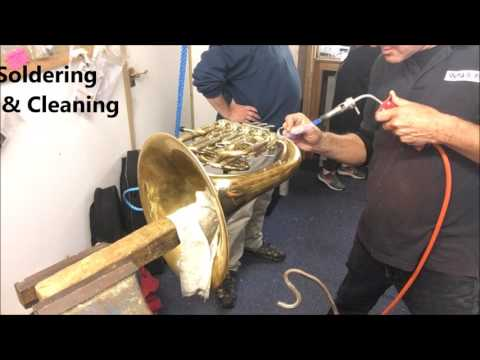 Brass Repair - Customising French horn for Assistant Principal RLPO